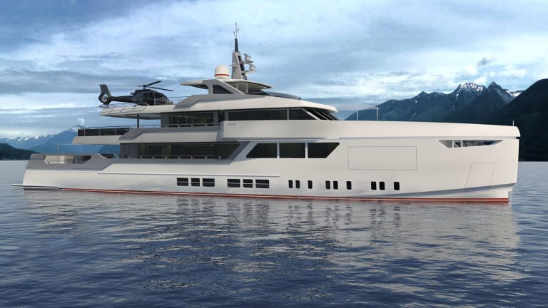 Yacht Designer Gian Paolo Nari ,along with Brythonic Yachts & Kobus Naval Design, develops 148-footer Lovesong