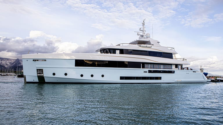 Admiral, flagship brand of The Italian Sea Group, launches the 157-foot 48-meter Crocus