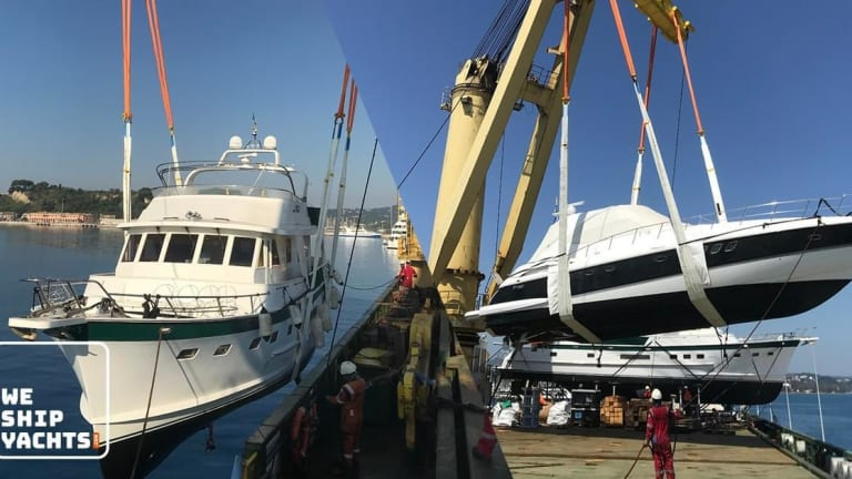 WATCH: Jumbo Vision delivers cargoes for multiple USA customers, including yachts