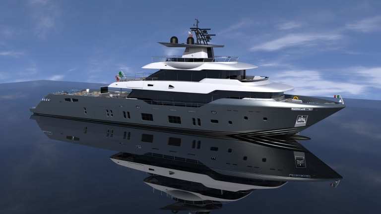 Oceanic Yachts— New 140-foot flagship for Canados's Fast Expedition Range