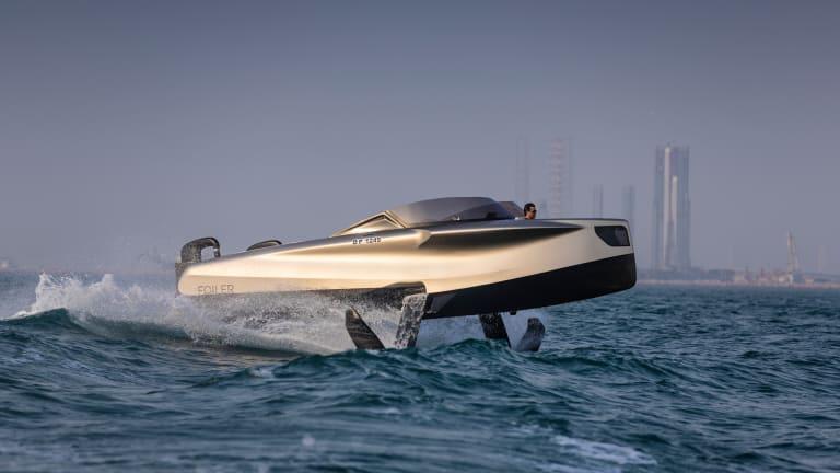 Foiler— The Flying Yacht