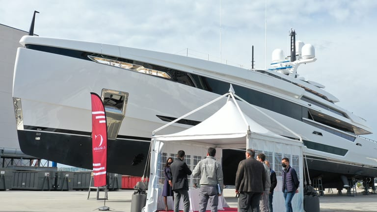 A glimpse into what's new at Palumbo Superyachts