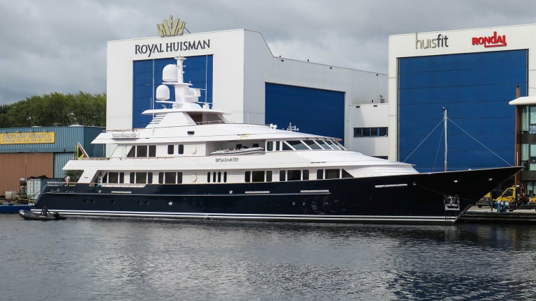 From Classic to Contemporary: Huisfit Royal Huisman's refit division,  delivers the renewed Broadwater