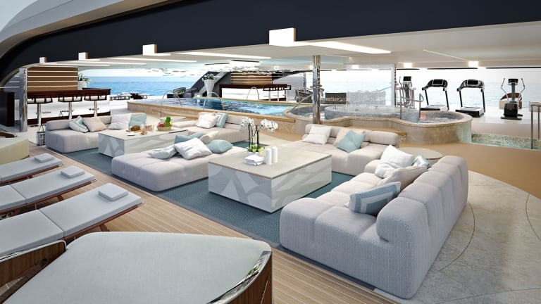 When wellness becomes about living well Nuvolari Lenard incorporates wellness lifestyle into yacht design