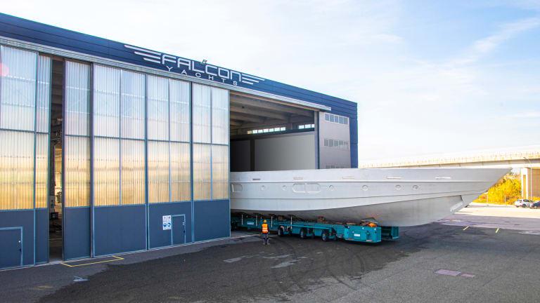 Falcon Yachts' Legacy Line designed by Quartostile