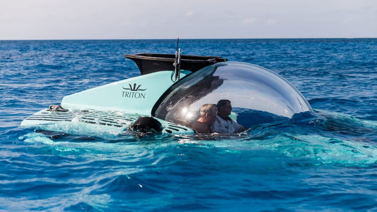 Maybe it's more fun 3,281 feet (1000 meters) beneath the sea than above it these days?Check out the  new Triton Submarine slated for a 466ft (142m) Lürssen host yacht. It can take you there!