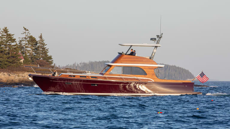 The Lyman-Morse built Hood 57 Designed by CW Hood Yachts and Stephens Waring Yacht Design