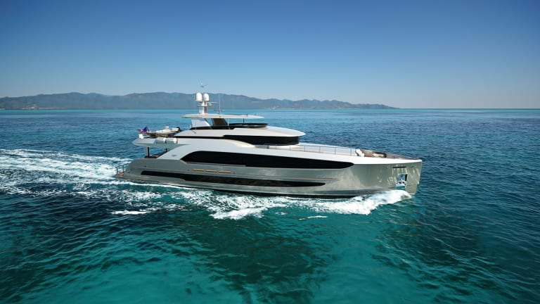 Burger Boat teams up with Gregory C. Marshall Design on a new 120ft Raised Pilothouse