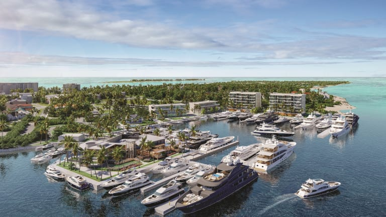 Hurricane Hole Superyacht Marina at Paradise Landing Announces Commencement of Construction