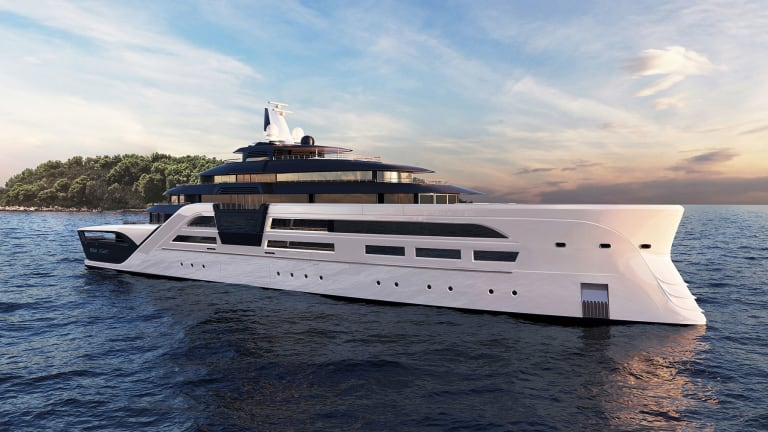 With Ultra2, T Fotiadis Design, is thinking about sustainability and security for long distance cruising