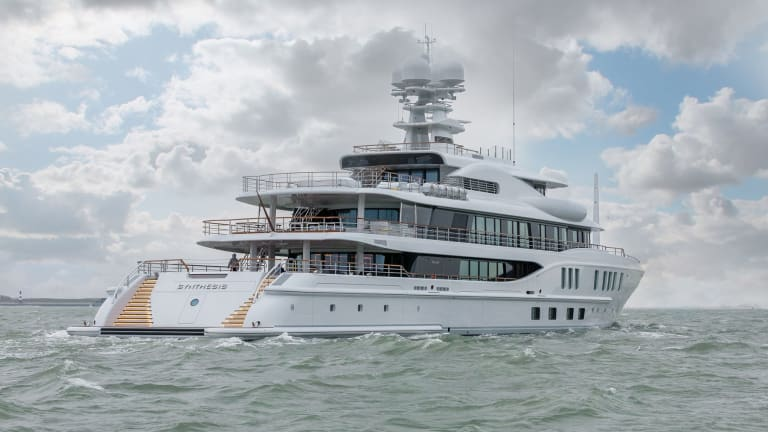 Damen Yachting kicks off the New Year with the delivery of 242-foot/ 74-meter Amels Limited Edition Synthesis