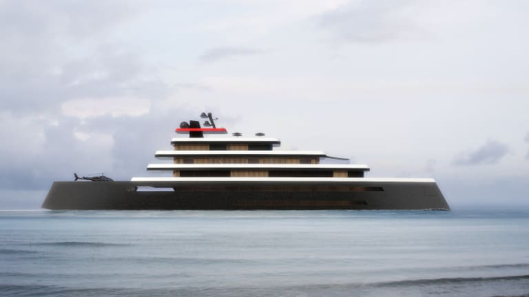 Ludes Design Studio unveils the 351-foot /107-meter OI (OCEAN ONE) Superyacht concept based on the golden age of ocean liners