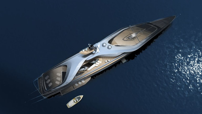Time for a Change. KAIROS is a new concept presented by Oceanco, Pininfarina and Lateral Engineering