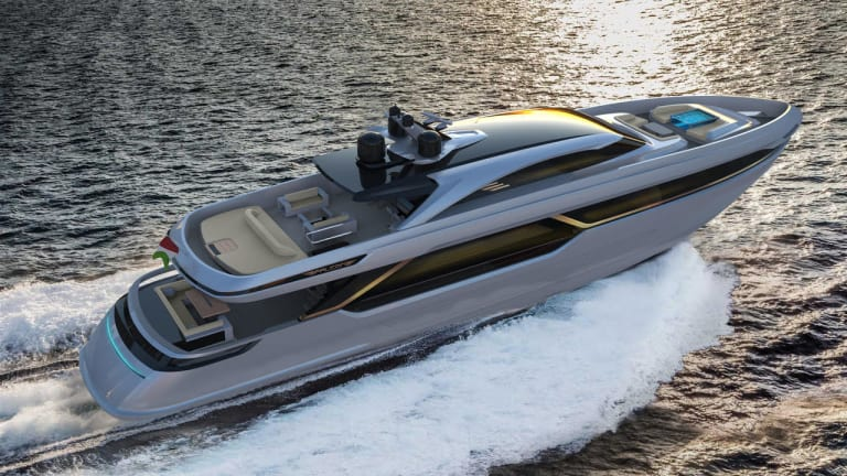Falcon Yachts' Legacy 40m (131ft) is on schedule for delivery February 2022