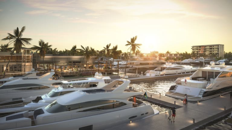 Expansion and reconstruction for Hurricane Hole Superyacht Marina at Paradise Landing in The Bahamas is slated for completion Q4 2021