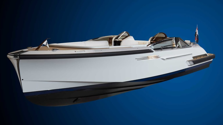 Carlo Nuvolari of Nuvolari Lenard  talks about designing custom tenders and about their new 'green' watercraft for the city of Venice