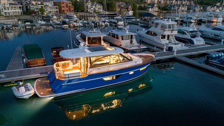 Burger Boat Company begins construction on new DeBasto-designed 50-foot Cruiser