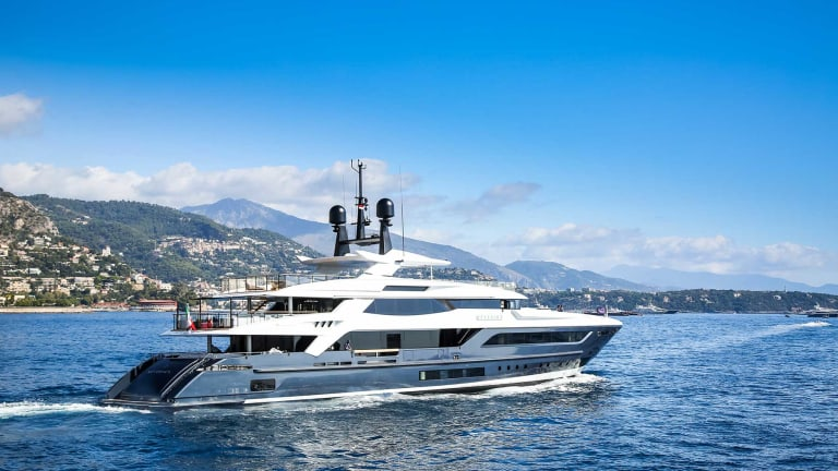 Baglietto shipyard delivered  M/Y Severin*s to her Owner