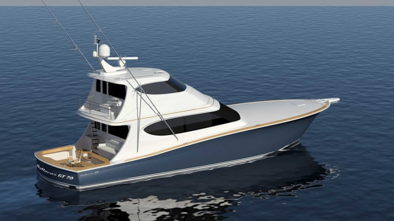 New Hatteras GT70 Enclosed Bridge Model launches at Miami Yacht Show