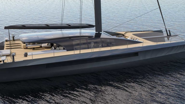 BlackCat 30 luxury catamaran with exterior design by MMYD and interior by M2 Atelier