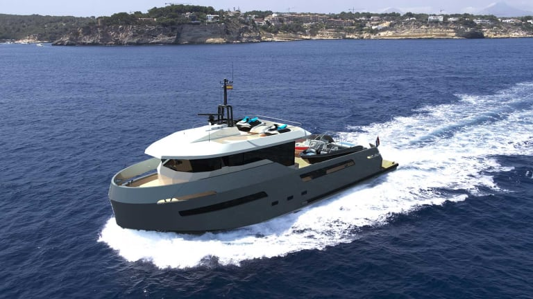 New Crossover 27m for Lynx Yachts