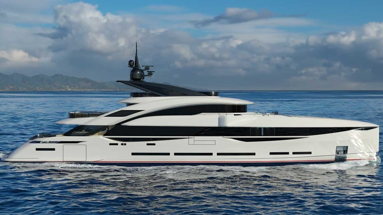 ISA Granturismo 45 (148-foot) motoryacht is on track for delivery this summer