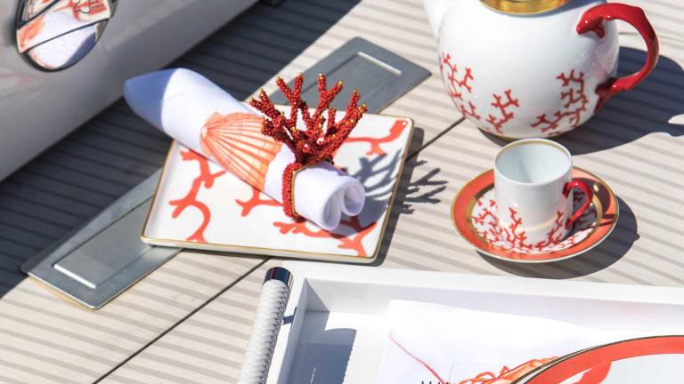 Fabrics, furnishings, tableware, bed, bath and beyond by Sabrina Monte-Carlo