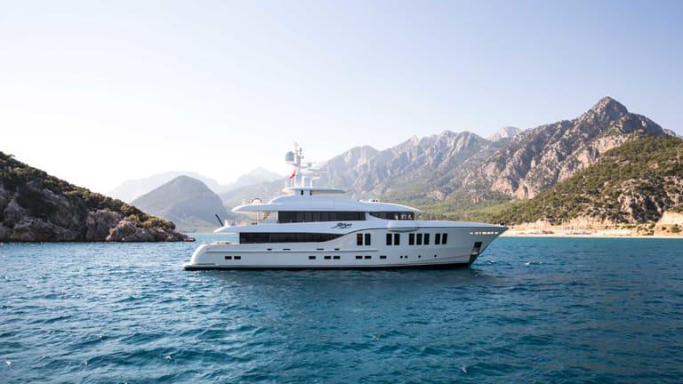 135-foot (41-meter) Sorgiovanni-designed  Rüya by Alia Yachts