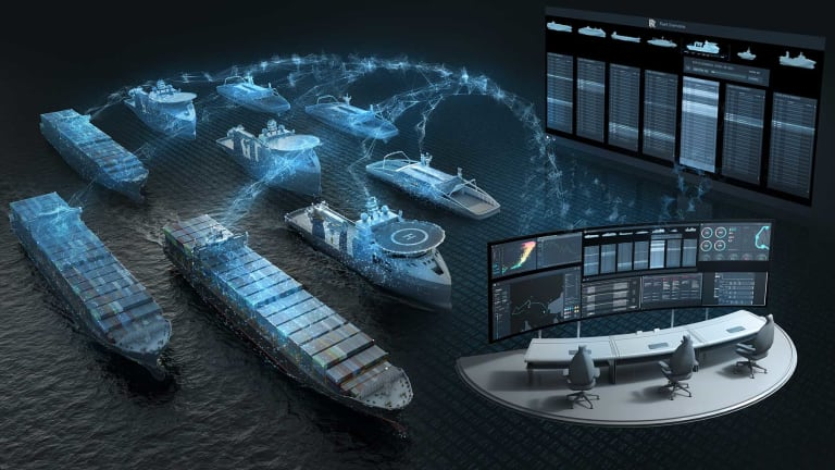 An autonomous superyacht optimized withartificial intelligence in every system