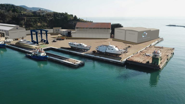 The newly formed Antonini Navi offers a full range of yachting services in Italy