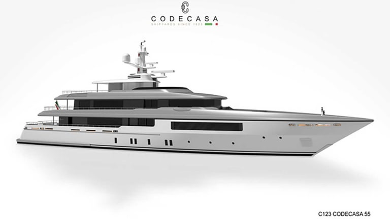 Codecasa is reopening and their 2 x 180-footers / 55-meters are progressing at pace