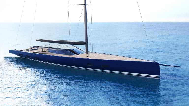 Design Unlimited and Reichel Pugh Yacht Design team up to present a new 138-foot /42-meter family-focused sailing yacht