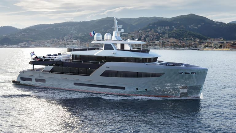 Bering Yachts' 145-foot (45m) superyacht will be the company's flagship upon delivery