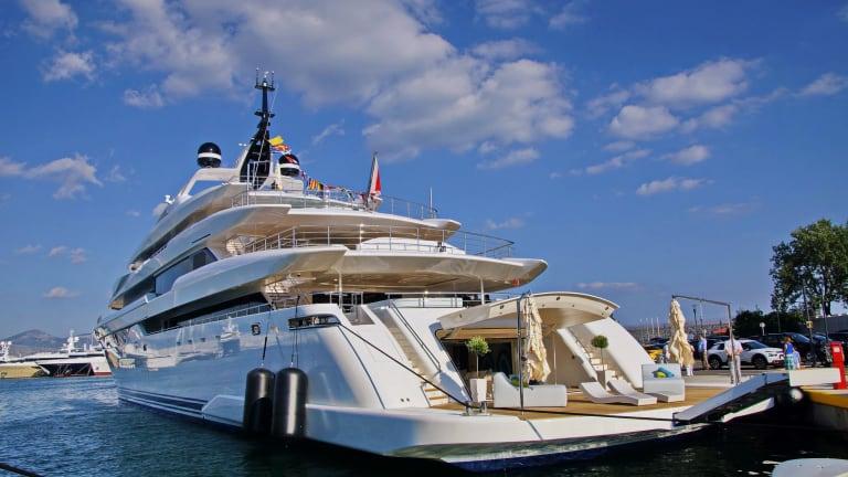 The new 312-foot (95-meter) motoryacht O'PARI