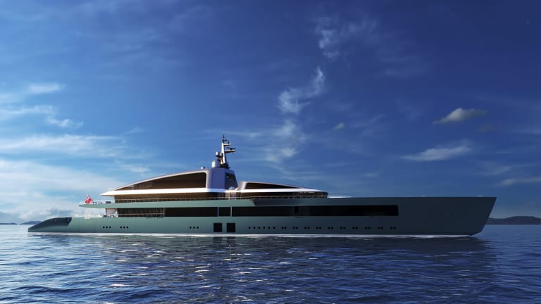 M/Y NOW— a new 361-foot /110-meter concept by Piredda & Partners