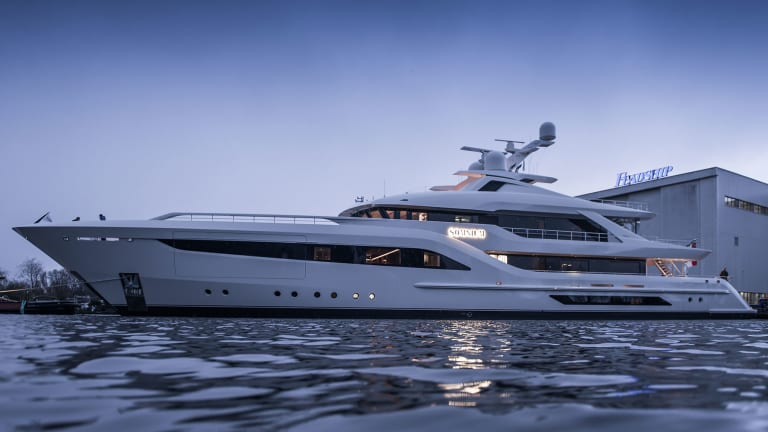 181-foot /55-meter Feadship Somnium close to completion