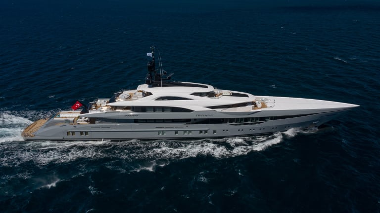 The 263-foot/80-meter Tatiana—the largest private yacht launched in Turkey to date —built at the Bilgin Yachts is just one of many in the shipyard's pipeline