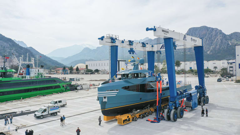 PHI Phantom built by Alia Yachts with exterior design by Cod D Rover is a new kind of support vessel