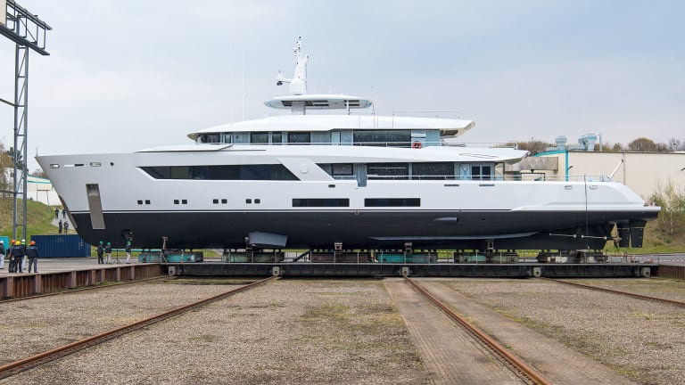 Lürssen's newly launched 182ft/55m project 13800, designed by Bannenberg & Rowell, takes its reference from the iconic Carinthia VI designed by the late Jon Bannenberg in the 1970's