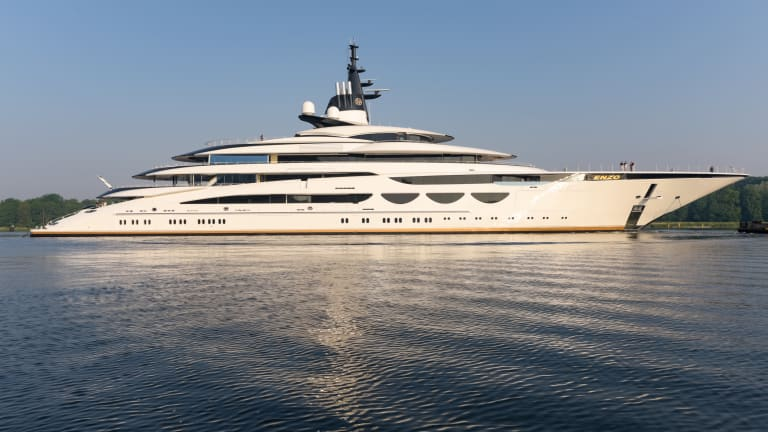 Lürssen launches 378ft/ 115m project Enzo— designed by Nuvolari Lenard— for repeat client