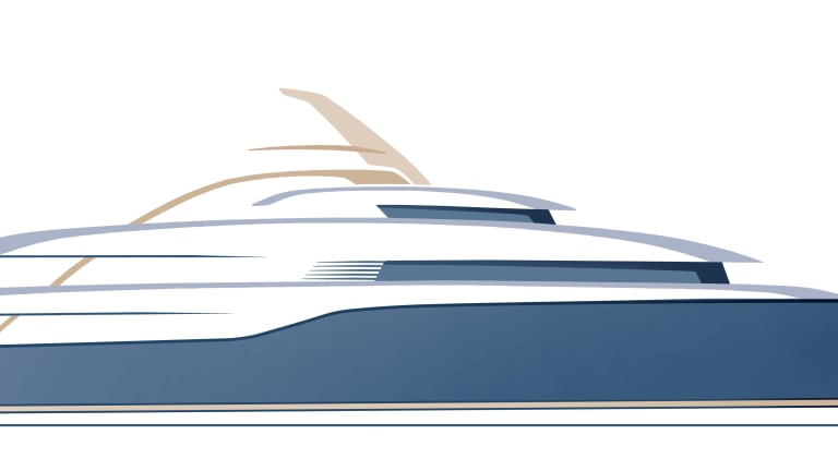 Turquoise Yachts collaborates with designers Harrison Eidsgaard on the yard's largest new build project to date