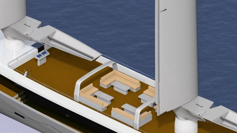 Wind Wins! New propulsion possibilities abound, but wind has been used for centuries …Check out the all new innovative NERSUS Rig® for superyachts