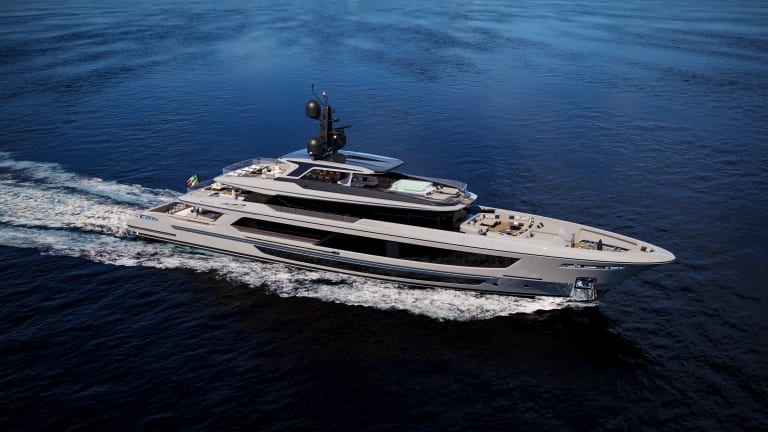 Baglietto who announces the signature of a new order for aT52  171ft yacht designed by Francesco Paszkowski Design