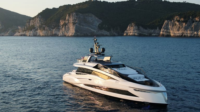 Tecnomar, a brand within The Italian Sea Group, delivers its new EVO120