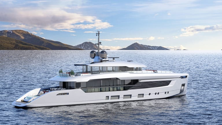 Columbus Yachts presents the two new yachts from its Atlantique line designed by Hot Lab from 121 feet to 180 feet  (37 to 55 meters)