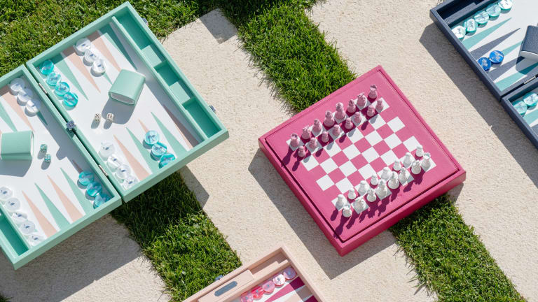 Need a new backgammon set to jazz up your yacht? Check the latest offering from Sabrina Monte-Carlo