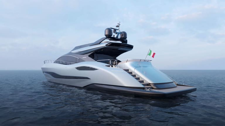New Mangusta 104 REV designed by Lobanov Design will be delivered to an American Client!