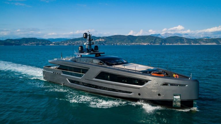 Baglietto's new 131-foot/ 40-meter high performance M/Y Panam