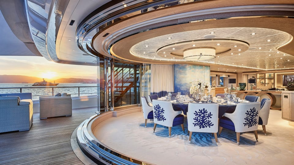 Superyacht Review: An inside look at the CRN M/Y Cloud 9