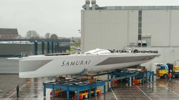 Famous offshore racer Mari Cha IV to be re-commissioned by Huisfit as Samurai